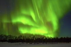 Aurora boreal (aurora borealis) Imagenes de archivo