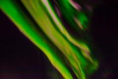 Aurora boreal en el cielo nocturno Fotos de archivo