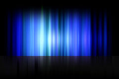 Aurora boreal, estrella polar de la aurora Foto de archivo libre de regalías