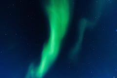Aurora boreal polar en Noruega Imagenes de archivo