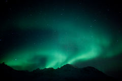 Aurora Borealis royalty free stock photos