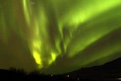 Aurora Borealis Stockfoto