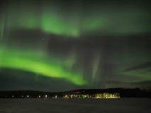 Aurora borealis Stockfotografie