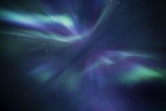 Aurora Borealis Fotografie Stock