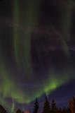 Aurora Borealis Royalty-vrije Stock Foto