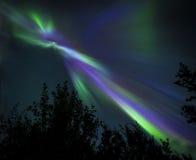 Aurora Borealis Imagen de archivo libre de regalías