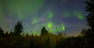 Aurora Borealis Photo stock