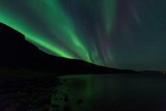 Aurora Borealis Fotografia Stock