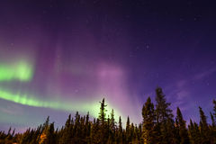 Aurora Borealis Arkivbild