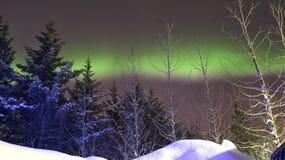 Aurora Borealis Foto de archivo libre de regalías