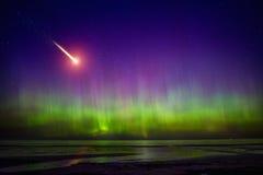 Aurora Borealis Foto de archivo