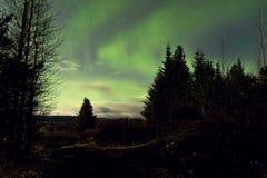 Aurora Borealis Image stock