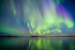 Aurora Borealis Photos stock