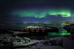 Aurora Borealis Royaltyfri Fotografi