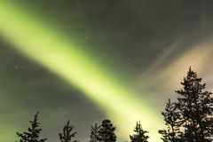 Aurora Borealis Fotografía de archivo libre de regalías