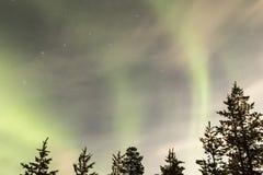 Aurora Borealis Imágenes de archivo libres de regalías