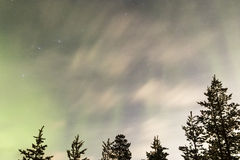 Aurora Borealis Fotografía de archivo