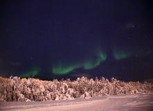 Aurora Borealis Stock Afbeeldingen