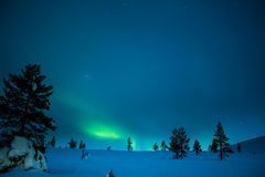 Aurora Borealis Lizenzfreies Stockfoto