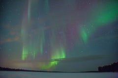 Aurora Borealis Stockbilder
