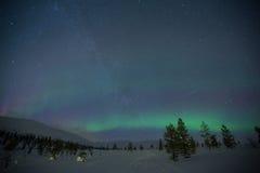 Aurora Borealis Lizenzfreie Stockfotos