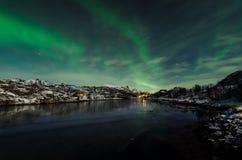 Aurora Borealis Photo stock