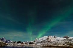 Aurora Borealis Image libre de droits