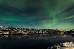 Aurora Borealis Photos libres de droits