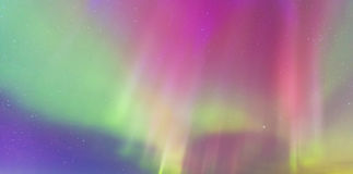 Aurora Borealis abstract background Royalty Free Stock Photography