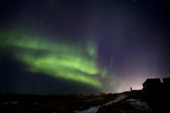 Aurora borealis Stock Image