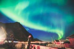 Aurora Borealis Stock Photos