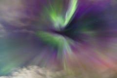 Aurora Borealis Corona Arkivbild