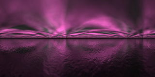 Aurora borealis - 3D render Royalty Free Stock Photography