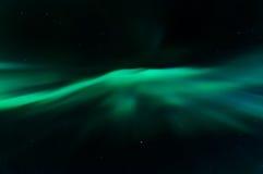 Aurora borealis dans le kattisberg, Suède Photo stock