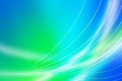 Aurora borealis desktop Stock Photography