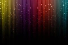Aurora borealis digitale artistico immagine stock libera da diritti