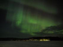 Aurora borealis display Royalty Free Stock Image