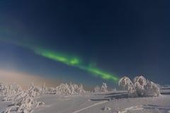 Aurora Borealis em Lapland Imagem de Stock Royalty Free