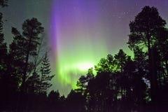 Aurora Borealis in finnish Lapland Stock Photography