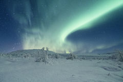 Aurora borealis in Iceland Royalty Free Stock Photos