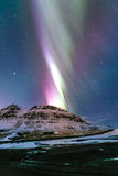 Aurora borealis Iceland Royalty Free Stock Photography
