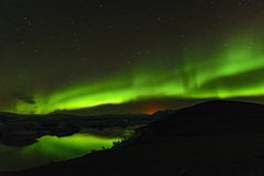 Aurora borealis, Iceland Stock Photography
