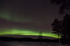 Aurora Borealis in Inari, Lapland, Finland Royalty Free Stock Images