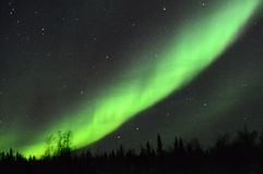 Aurora Borealis, Inuvik, Canada Stock Photo