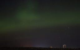 Aurora Borealis. In Jämtland Sweden Stock Photography