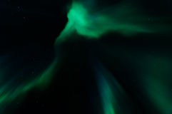 Aurora borealis in kattisberg, Zweden Stock Foto's