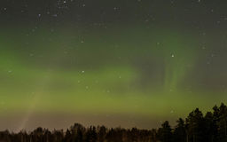 Aurora Borealis, luzes do norte Imagens de Stock