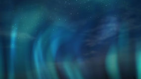 Aurora borealis in night sky Stock Image