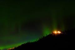 Aurora Borealis & x28; Noordelijke Lights& x29; Royalty-vrije Stock Afbeeldingen