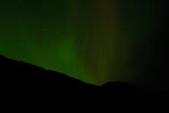 Aurora Borealis & x28; Noordelijke Lights& x29; Royalty-vrije Stock Foto